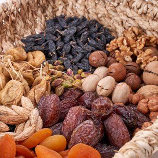 Suho sadje in oreščki